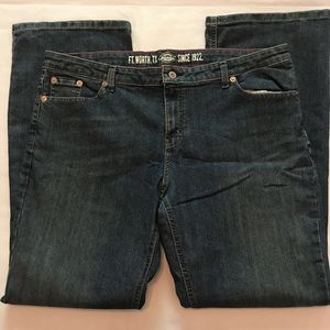 Dickies women's relaxed fit denim jeans Sz 18